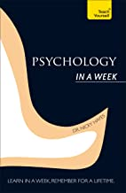 Psychology In A Week: Teach Yourself (Teach Yourself in a Week) (English Edition)