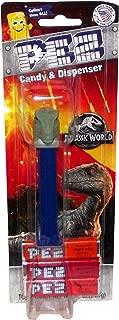Jurassic World: Fallen Kingdom PEZ Carded Dispenser Pack (Blue the Raptor)