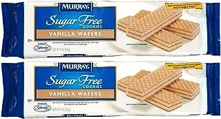 Murray Sugar-Free Vanilla Creme Wafer Cookies - 9 oz - 2 Pack