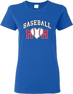 Baseball Mom - Baseball, Mom, Women, Sports, Ladies T-Shirt Basic Cotton
