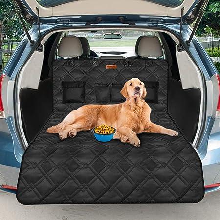 Feandrea Kofferraumschutz Reißfest Wasserdicht Hundedecke Fürs Auto Pds02bk Haustier