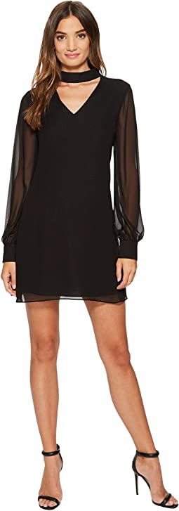 CeCe - Zoey - Long Sleeve Bar Neck High-Low Dress