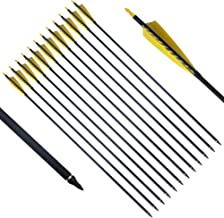 PG1ARCHERY 50 Pack Archery Plastic Arrow Nocks for ID 6.2mm Carbon Arrows