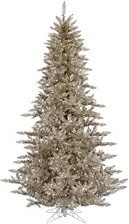 Vickerman Champagne Fir Tree with 234 PVC Tips, 3' x 25