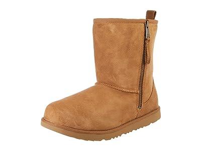 UGG Kids SINGLE SHOE Classic Short Dual Zip Boot (Toddler/Little Kid/Big Kid) (Chestnut) Kids Shoes