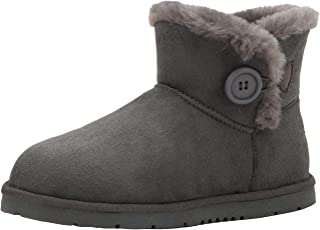 Womens Mini Bailey Button Winter Snow Boots