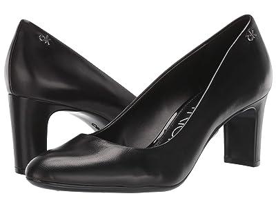 Calvin Klein Oska (Black Leather) Women