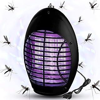 QUTOP Electric Bug Mosquito Killer with Insect Zapper Outdoor/Indoor Hook, 02-Black