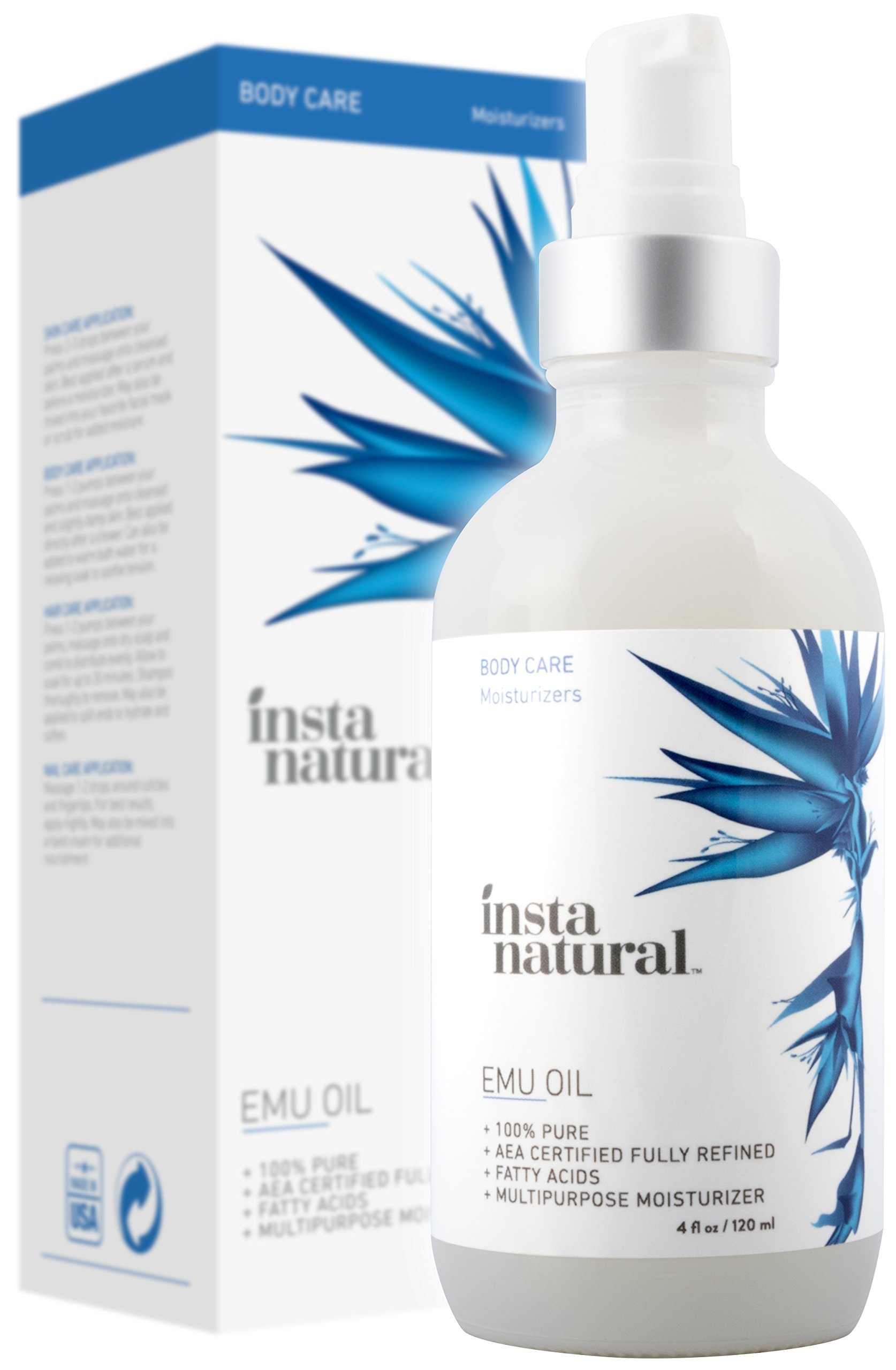 Emu Oil Moisturizer Strengthened InstaNatural
