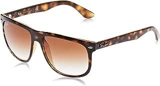 RB4147 Boyfriend Square Sunglasses, Light Havana/Brown Gradient, 56 mm