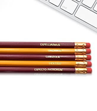 Harry Potter - Inspirational Pencils Engraved With Funny And Motivational Sayings For School And The Office
