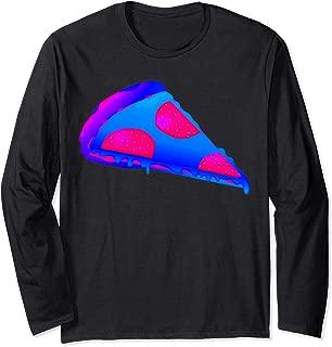 EDM Electronic Dance Techno Pizza Rave Long Sleeve T-Shirt