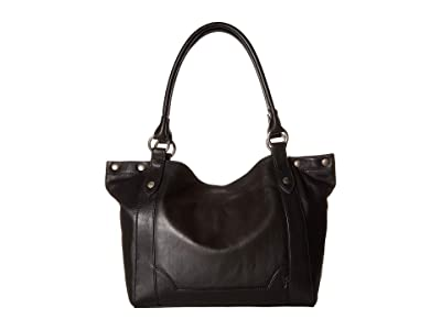 Frye Melissa Shoulder (Black Smooth Full Grain 1) Shoulder Handbags