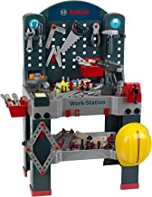 Theo Klein Bosch Jumbo Work Station Workbench Premium DIY Children's Toy Toolset Kit with Accessories and Extra Tools for ...