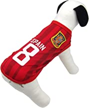Alfie Pet - Ezra Soccer Jersey - Color: Spain