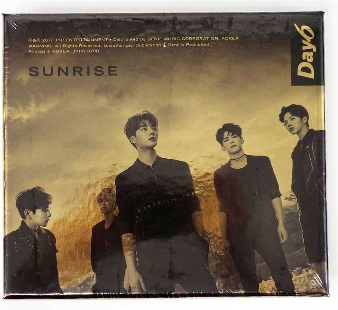 Day6 Sunrise Album Cover