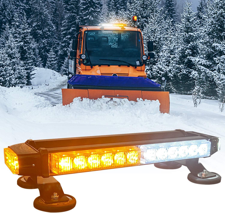 Cheap bargain LED Strobe Flashing Light Popular brand Bar DIBMS Side Whi 30LEDS Amber Double