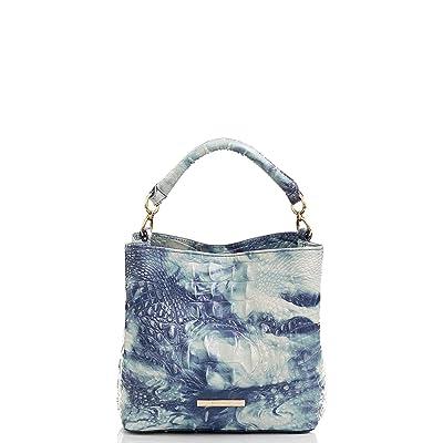 Brahmin Melbourne Mini Amelia Crossbody (Chambray) Handbags