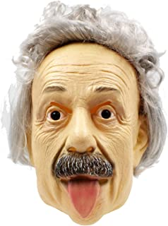 PartyHop Human Old Man Mask Realistic Halloween Latex Human Wrinkle Face Mask