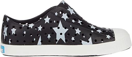 Jiffy Black/Shell White/Multi Stars