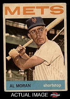 1964 Topps Venezuelan # 288 Al Moran New York Mets (Baseball Card) Dean's Cards 2 - GOOD Mets