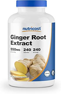 Nutricost Ginger Root Extract 550mg, 240 Capsules