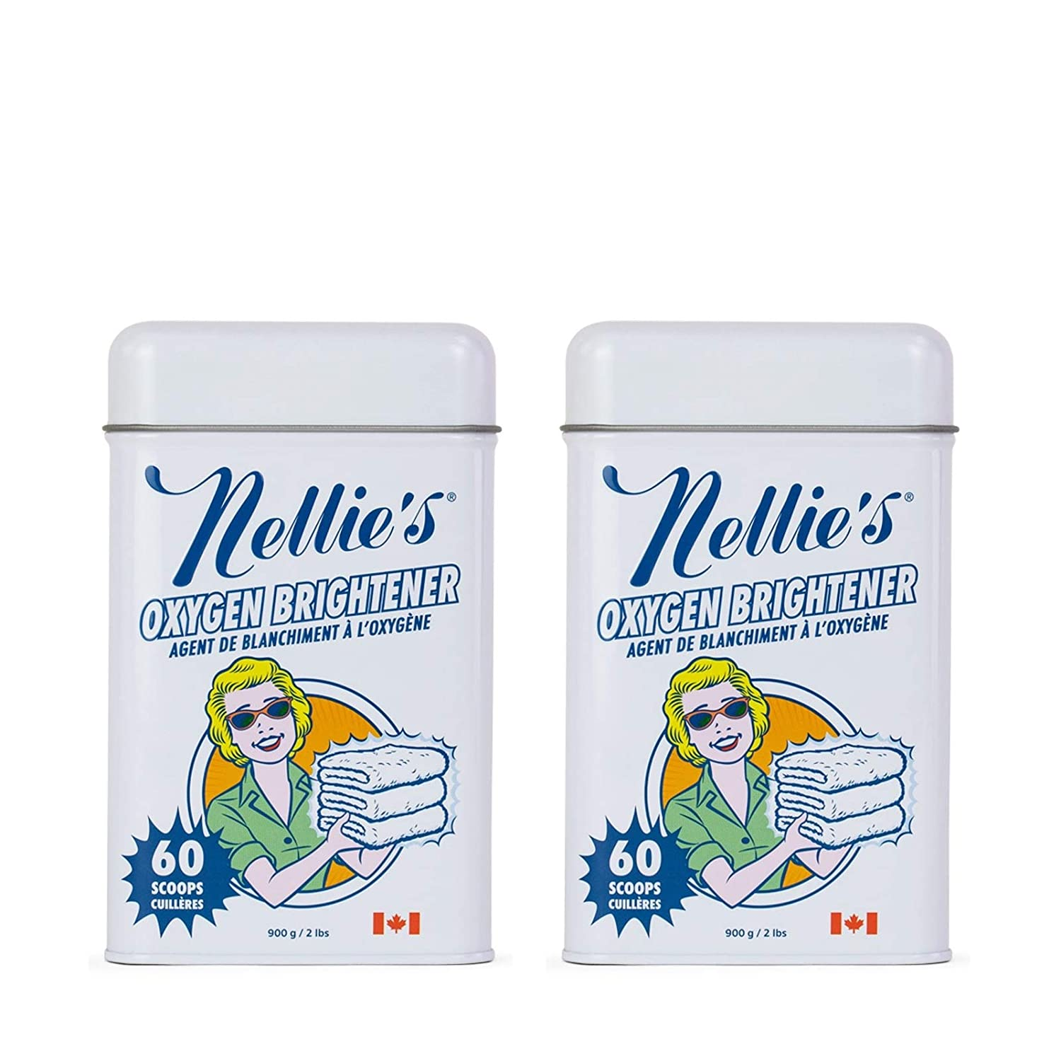Nellie's All-Natural Super Special SALE held Oxygen Brightener Powder 2 Tin Pac Al sold out. Pounds