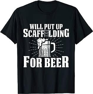 Best scaffold builder shirts Reviews