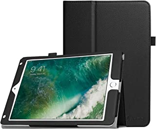 Fintie Case for iPad 9.7 2018/2017, iPad Air 2, iPad Air - [Corner Protection] Premium Vegan Leather Folio Stand Cover, Auto Wake/Sleep for iPad 6th / 5th Gen, iPad Air 1/2, Black
