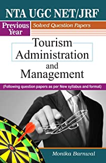 NTA UGC NET/JRF Previous Year Solved Question Papers Tourism Administration and Management