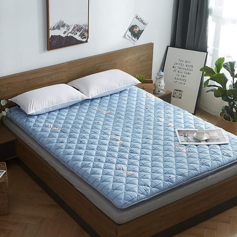 Tatami Padded Mat,Padded Mattress,Mattress Tweezers 1.2m Sponge Double Student Dormitory Tatami-d 90x200cm(35x79inch)