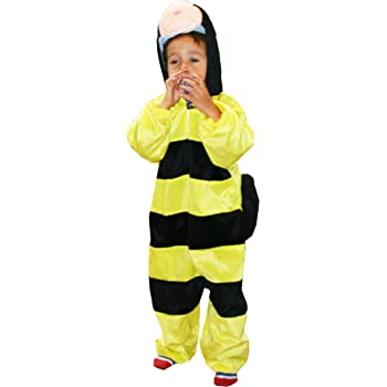 Fun Play Disfraz Animal Abeja / abejorro niño - Animal Onesie ...