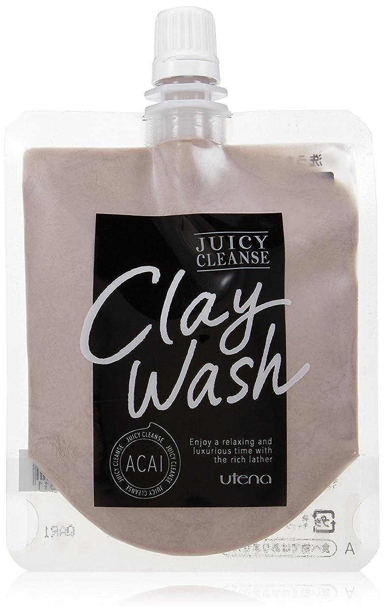 感度リゾート従順JUICY CLEANSE(ジューシィクレンズ) クレイウォッシュ アサイー 110g