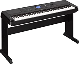 Yamaha Dgx660B 88-Key Weighted Digital Piano With Furniture Stand