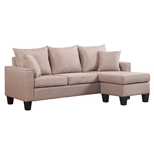 Enjoyable Small Sectional Sofa With Chaise Amazon Com Uwap Interior Chair Design Uwaporg