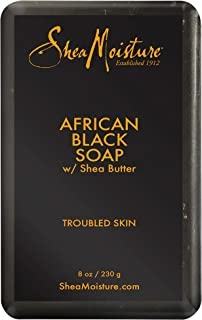 Shea Moisture African Black Soap with Shea Butter, 230 g