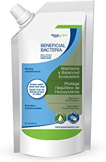 Aquascape Liquid Beneficial Bacteria for Pond and Water Features, 1-Liter Refill Pouch | 40002