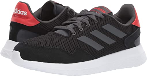 Core Black/Grey Six/Active Red