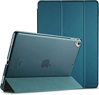 ProCase iPad Pro 12.9 2017/2015 Case (Old Model, 1st & 2nd Gen), Ultra Slim Lightweight Stand Smart Case Shell with Translucent Frosted Back Cover for Apple iPad Pro 12.9 Inch –Teal