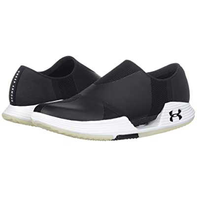 Under Armour UA Speedform AMP 2.0 Slip (Black/White/Black) Women