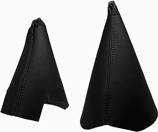 Funda para Palanca de Cambio 100/% Piel Color Negro Para KIACEED Modelos 2006 +