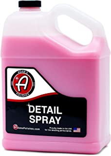 Adam's Detail Spray - Quick Waterless Detailer Spray for Car Detailing   Polisher Clay Bar & Car Wax Boosting Tech   Add S...