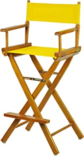"Casual Home 230-05/021-34 Director Chair, 30""-Bar Height, Gold"