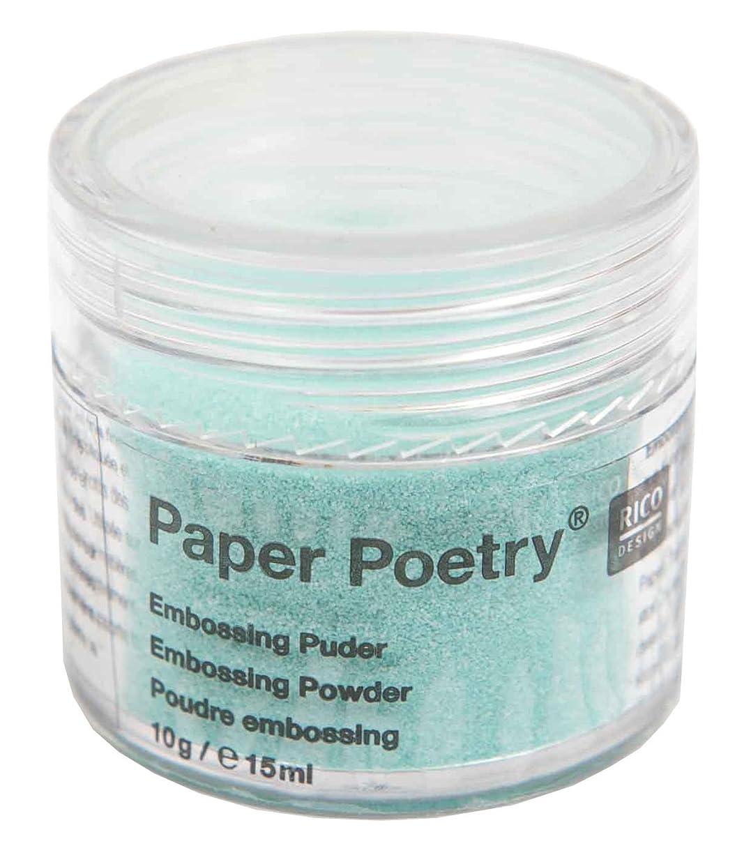 Rico Design Embossing Powder Mint Opal Art
