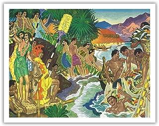 Best eugene savage hawaiian prints Reviews