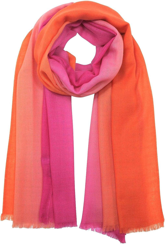 Marina D'este Women's B964910130 Fuchsia Wool Scarf