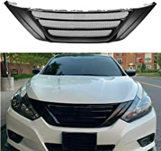 MotorFansClub Front Grill for Nissan Teana Altima 2016 2017 2018 Bumper Grille Hood Mesh Grill, Black