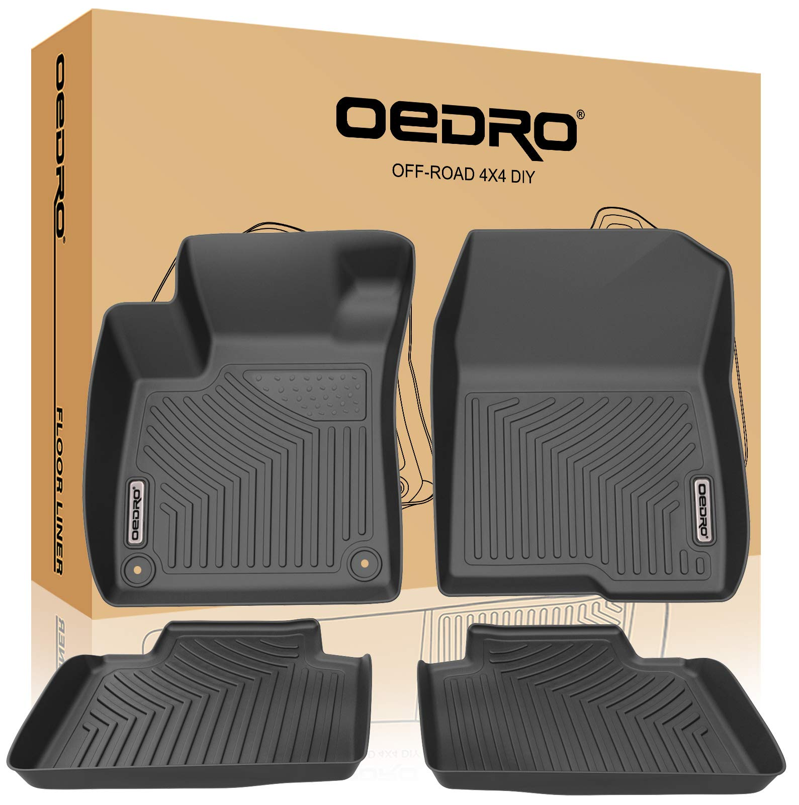 oEdRo Compatible 2018 2019 Accord All Weather