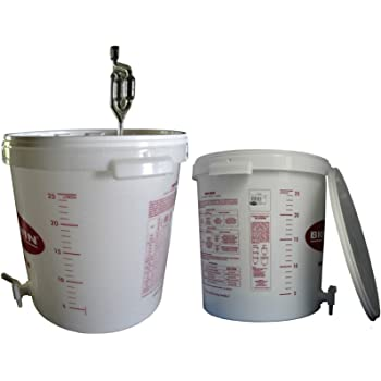 TAP optional 30 Litre FERMENTATION BUCKET CONTAINER Home Brew Beer Wine Making