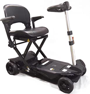 Transformer Electric Folding Mobility Scooter (Black)